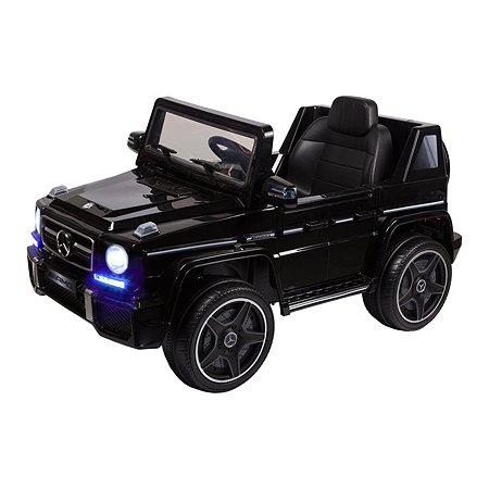 Электромобиль Kreiss Mercedes G63 AMG 2X6V черный(свет/звук)