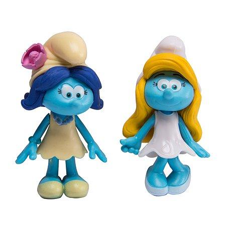 Набор из 2-х фигурок Smurfs Смурфетта и Ива 5 см