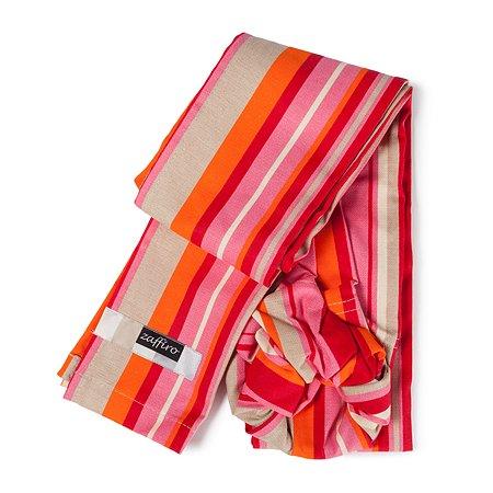 Слинг ZAFFIRO №16 5 Metal/Red and Orange Stripes