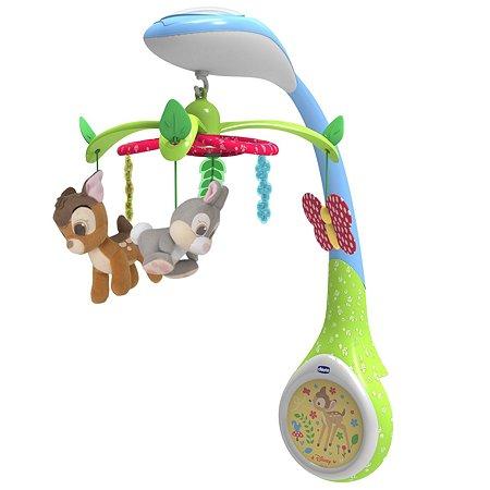Игрушка-проектор Chicco для кроватки Бэмби