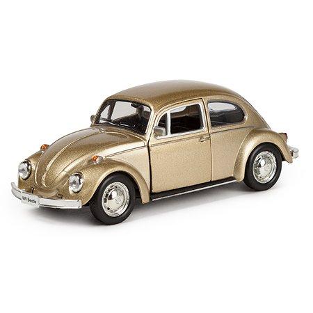 Машина Mobicaro 1967 Volkswagen Beetle 1:32 Золотой