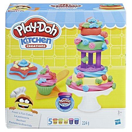 Игровой набор Play-Doh для выпечки