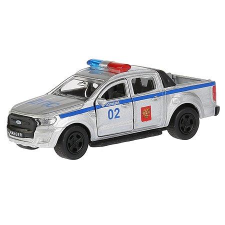 Машина Технопарк Ford Ranger Пикап Полиция инерционная 272084