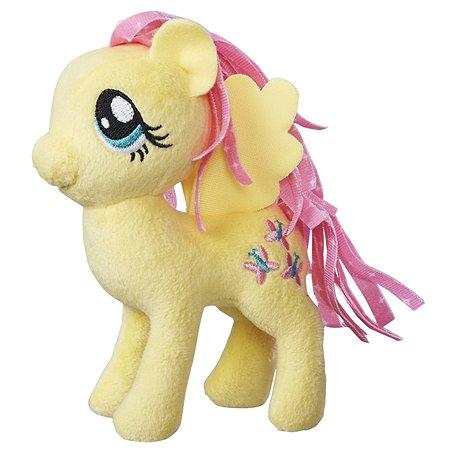 Игрушка мягкая My Little Pony Пони Флаттершай 2 с волосами C0105EU4