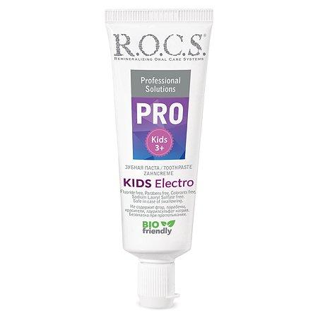 Зубная паста R.O.C.S. Pro Kids Electro 45г