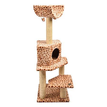 Площадка игровая для кошек FAUNA Bella Леопард FICP-120-0066