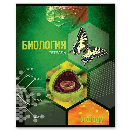 Тетрадь тематическая Полиграф Принт Биология А5 Клетка 48л 9877