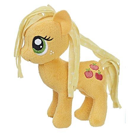 Игрушка мягкая My Little Pony Пони Эпплджек 2 с волосами C0106EU4