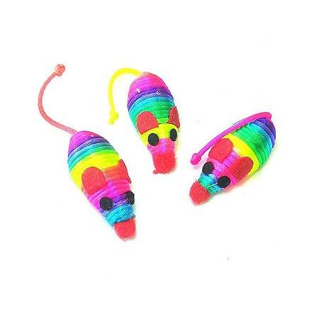 Игрушка для кошек Ripoma Радужные мышки 3 шт. Ripoma