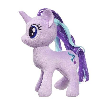 Игрушка мягкая My Little Pony Пони Глиммер с волосами C1067EU4