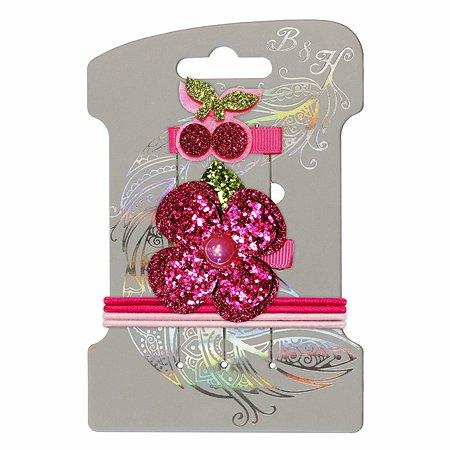 Набор для создания прически B&H Цветочек и вишенки 6предметов W0120
