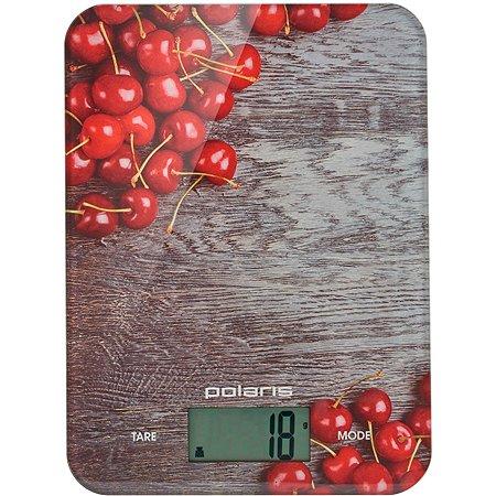 Весы кухонные Polaris PKS 1046DG Cherry Polaris