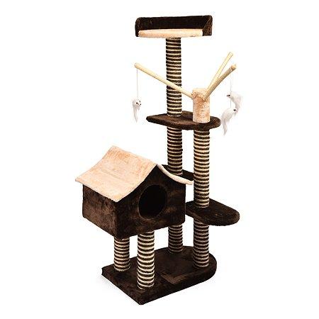 Площадка игровая для кошек FAUNA Sagrada Коричневый-Бежевый FICP-097-2302