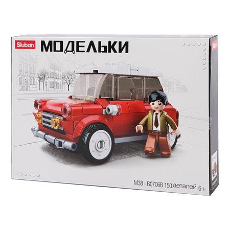 Конструктор SLUBAN Классический транспорт Mini M38-B0706B