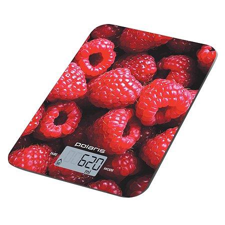 Весы кухонные Polaris PKS 1068DG Raspberry Polaris