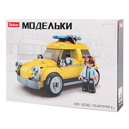 Конструктор SLUBAN Классический транспорт Beetle M38-B0706C