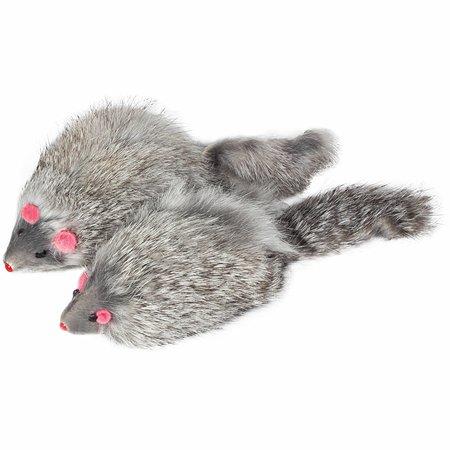 Игрушка для кошек Triol Мышь Серая M004NG