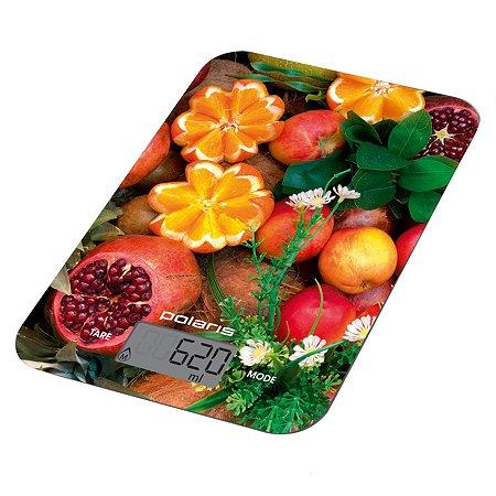 Весы кухонные Polaris PKS 1057DG Fruits Polaris