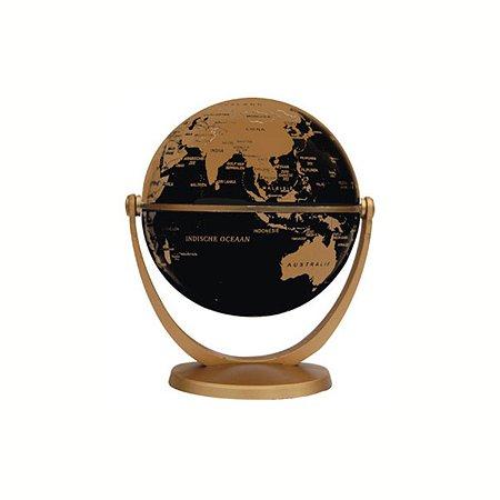 Глобус политический Ди Эм Би 10 см золотой металлик