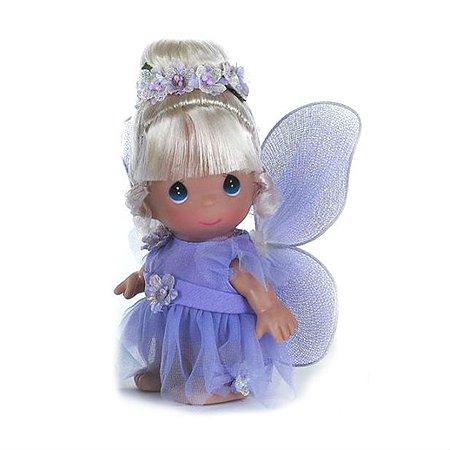 Кукла Precious Moments MINI Фея в фиолетовом 14 см