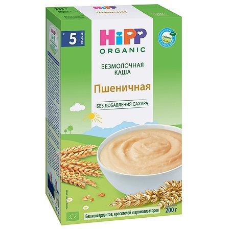Каша безмолочная Hipp органическая зерновая пшеничная 200г с 5месяцев