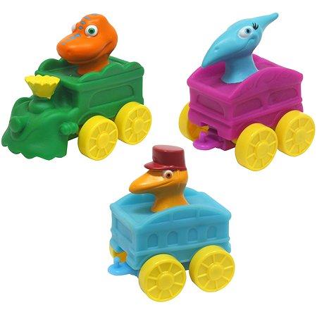 Вагончик Поезд динозавров с фигуркой в ассортименте