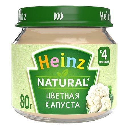 Пюре Heinz цветная капуста 80г с 4месяцев
