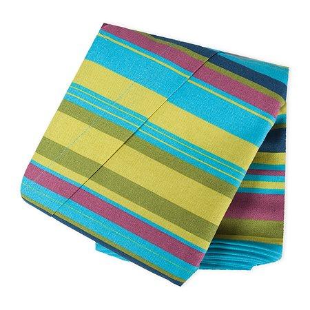 Слинг ZAFFIRO №17 1 Metal/Turquoise and Light Green Stripes