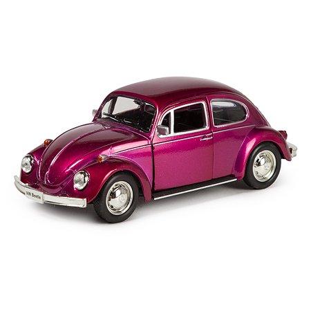 Машина Mobicaro 1967 Volkswagen Beetle 1:32 Фиолетовый