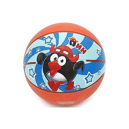 Мяч баскетбольный Joerex №5 Смешарики резина