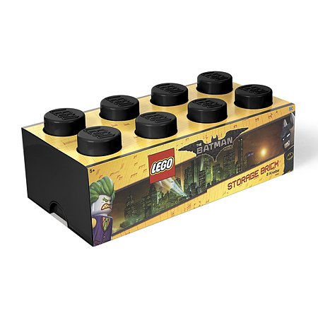 Система хранения LEGO 8 BATMAN черный