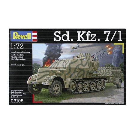 Полугусеничный тягач Revell Sd Kfz 7/1