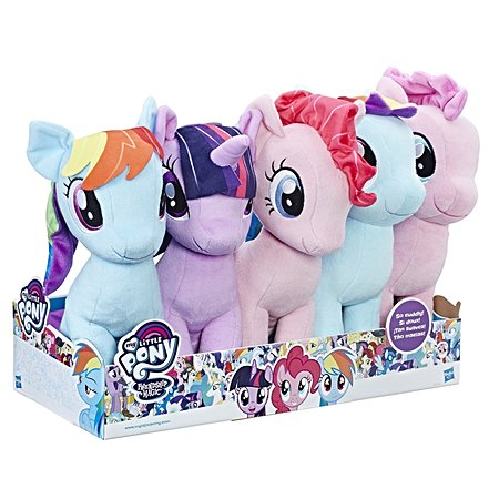 Игрушка мягкая My Little Pony Пони плюшевая в ассортименте B9817EU4