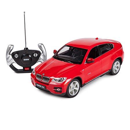 Машинка радиоуправляемая Rastar BMW X6 1:14 красная