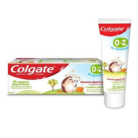 Зубная паста Colgate Нежные фрукты 40мл 0-2лет