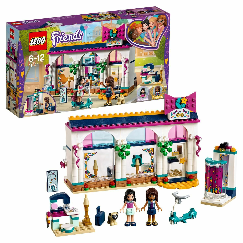 800ce527e799 Конструктор LEGO Friends Магазин аксессуаров Андреа 41344 - купить в ...