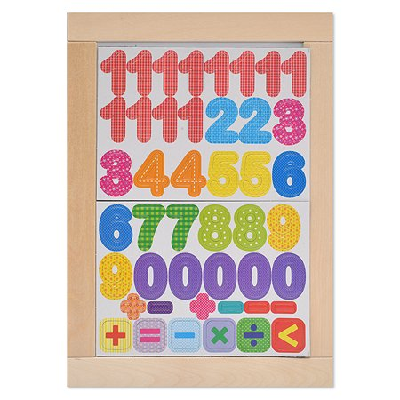 Доска Десятое королевство двусторонняя магнитно-маркерная Цифры 02699