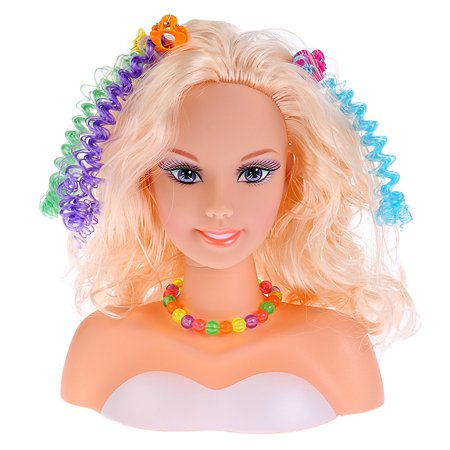Кукла-манекен для создания причесок Карапуз 279463