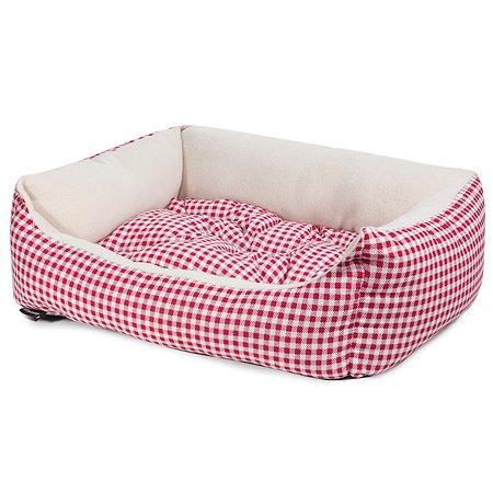 Лежанка для кошек GAMMA Кантри макси Красная 31932099