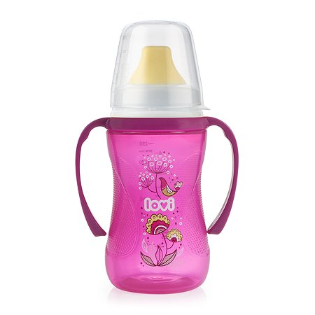Чашка-непроливайка LOVI I Folky 250мл Пурпурный 540010009