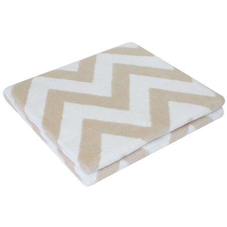 Одеяло байковое Ермошка Зигзаги Дымчатое 57-8 ЕТЖ Премиум