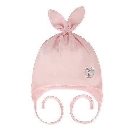 Шапка BabyGo розовая