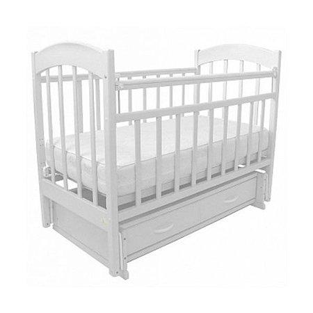 Кровать детская Топотушки Лидия-7 белая