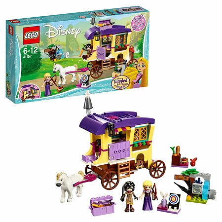 Конструктор LEGO Disney Princess Экипаж Рапунцель 41157