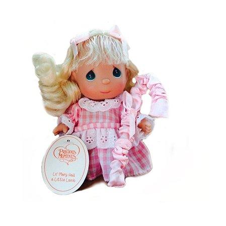 Кукла Precious Moments MINI Пастушка  14 см(в розовом)