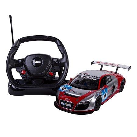 Машинка на радиоуправлении Rastar Audi R8 LMS 1:14 Серебряно-красная