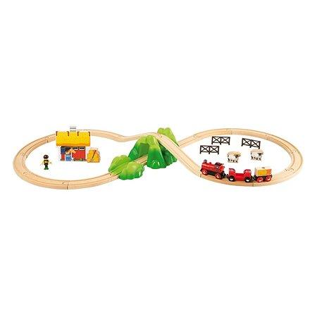 Железная дорога Brio Ферма (30 элементов)
