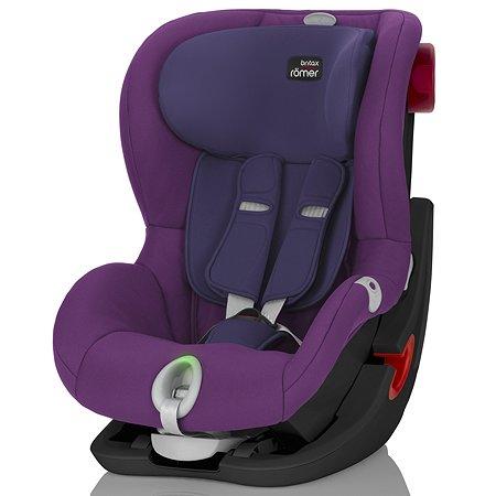 Автокресло Britax Roemer King II LS Black Series Mineral Purple