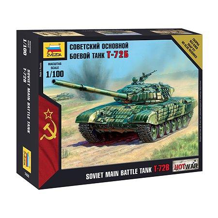 Модель для сборки Звезда Советский танк Т-72Б