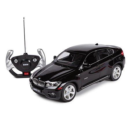 Машинка радиоуправляемая Rastar BMW X6 1:14 чёрная